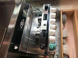 Cafetera espresso 2 cuerpos