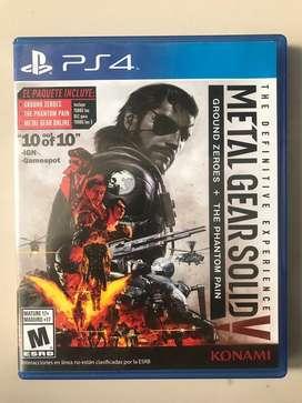 Vendo - Cambio Juegos PS4