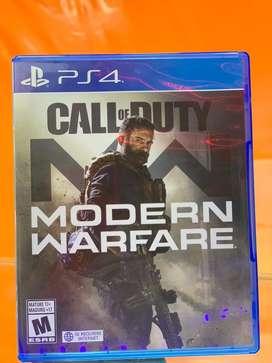 Call of dutty Modern warfare ps4 usado