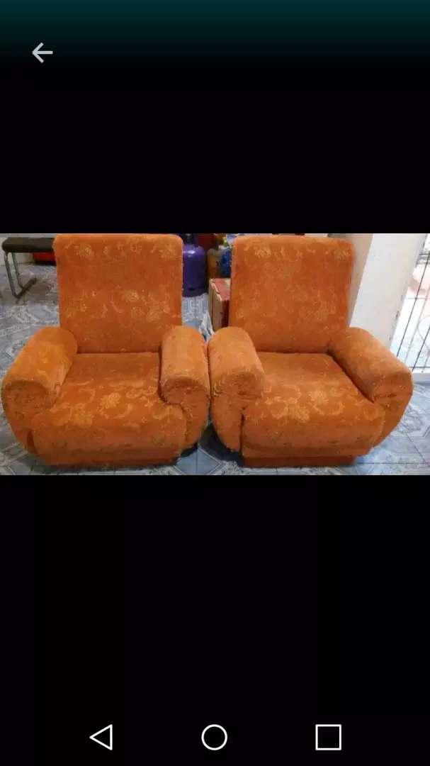 Vendo dos sillones 0