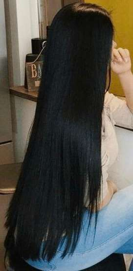Extensiones de cabello seminatural