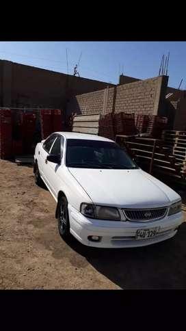 Auto nissan sanny año 2001 automático motor 1.3 gasolina y glp  muy económico.
