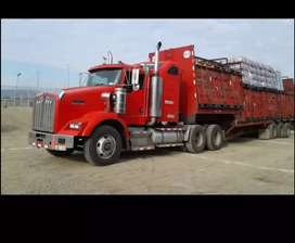 Vendo hermoso trailer Kenworth t-800
