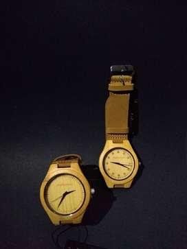 Relojes de madera hombre