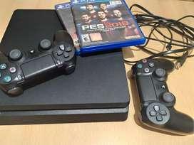 PS4 de 1 tb nueva + 9 juegos