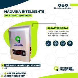 Maquina de desinfección con Ozono