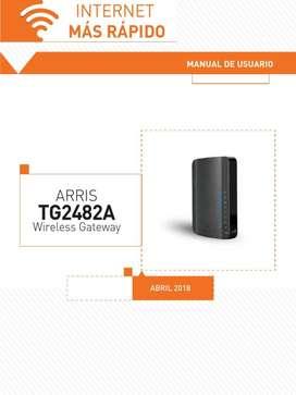 Repetidor y Punto de Acceso Wifi Arris