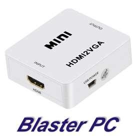 Conversor Hdmi A Vga Activo Ps4 Con Audio Zona Alto Rosario BLASTER PC