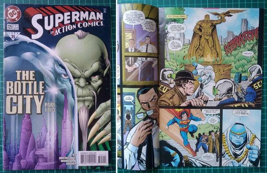 SUPERMAN in Action Comics 725 - The Bottle City (parte 1 de 3) 0