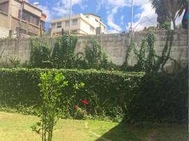 Quito Terreno o Casa de Venta Sector Quito Tenis Bajo, Norte de Quito
