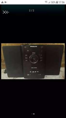 Vendo minicomponente philco AMP10U