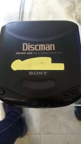 Discman Sony leer descripción