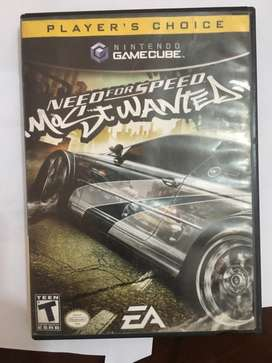 Vendo Need for Speed Most Wanted GameCube