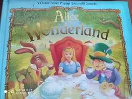 Lbro Alicia in Wonderland en ingles