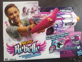 Pistolas Para Niños Marca Nerf Disruptor y Nerf Rebelle