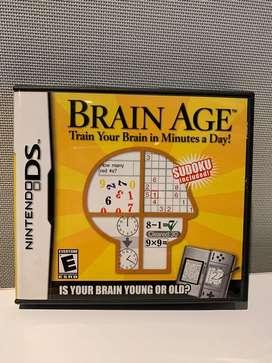 Videojuego BrainAge DS