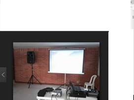 ALQUILER DE PROYECTORES, LCD, AMPLIFICACIÓN SONIDO