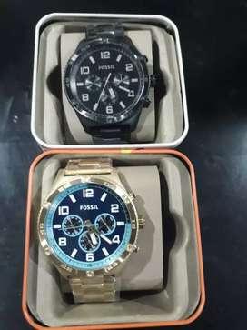 En venta 2 relojes Fossil