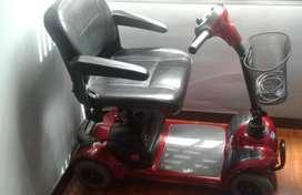 Silla de ruedas electrica scooter Invacare