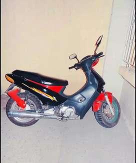 Moto Traxx Caida en matricula 5 años
