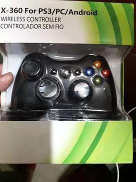 control xbox 360, play 3, pc.