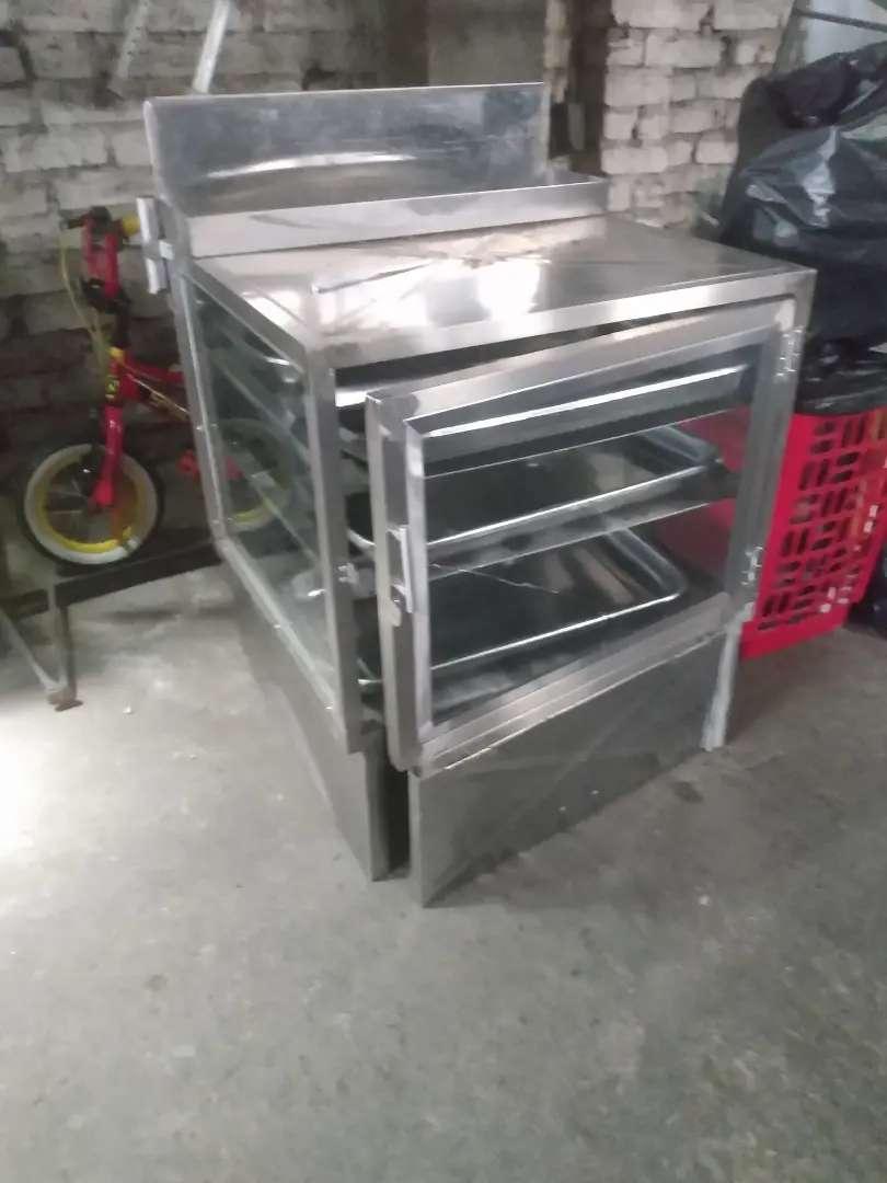 Vitrina para panadería o triciclo