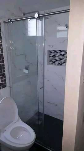 Vidrieria divisiones para baños