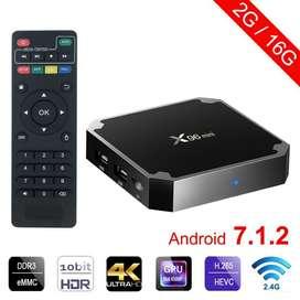 Tv Box X96 Mini 2gb 16gb Android Wifi