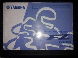 Manual de Yamaha Fz 16