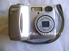 Cámara Digital Nikon Coolpix 3200 Sin Testear Funda / Maxim Nord