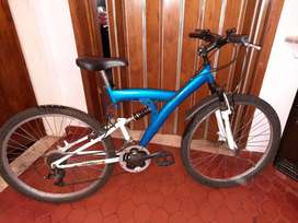 -Bicicleta R26 MTB Halley doble suspension MUY BUENA