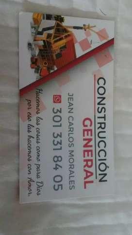 Ofrezco mi servicios como oficial de construcción en todas las áreas .