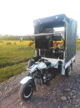 Servicio de acarreo en motocarguero