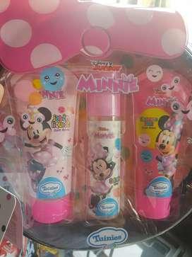 Mochila Minnie y Mickey mouse
