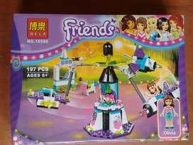Friends juguete piezas para armar Para Niñas ladrillos
