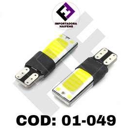 foco LED fijo y flash de uña