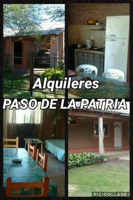 Alquileres Paso de La Patria 2019-2020