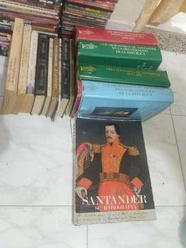 Libros Fancisco de Paula Santander