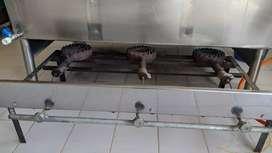 Mantenimiento estufas empotradas, industriales, freidoras