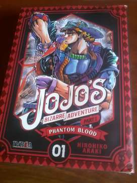 Manga Jojo's Bizarre Adventure Phantom Blood Tomo 1