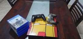 PlayStation 4 Fat con control y 8 juegos!!