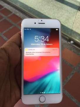 Iphone 6s rosado 64gb