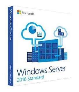 Windows Server 2016 Standard, Datacenter 1 Pc de por Vida Licencia Original Microsoft