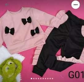 Ropa para niñas, prendas nacionales.