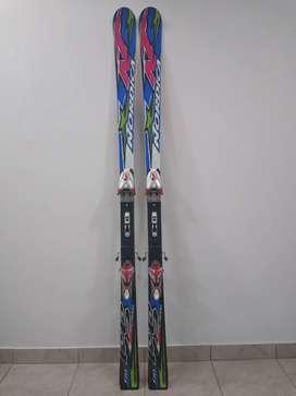 Tablas de esquí Nordica con fijaciones Marker