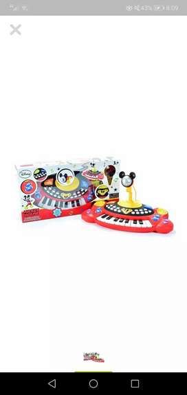 Centro musical mickey mouse