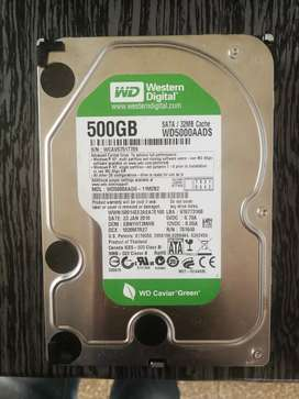 Vendo Disco Duro WD de 500GB