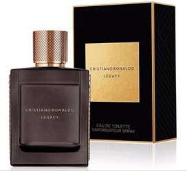 Perfume Cristiano Ronaldo Legacy 100ml Hombre Eros