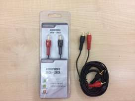 Cable Audio Video 2Rca 2Rca 1.8Mts