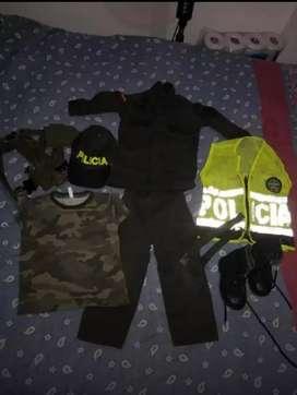 Disfraz niño de Policía